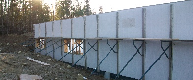 Insulated Foundations Insulating Concrete Forms Maine